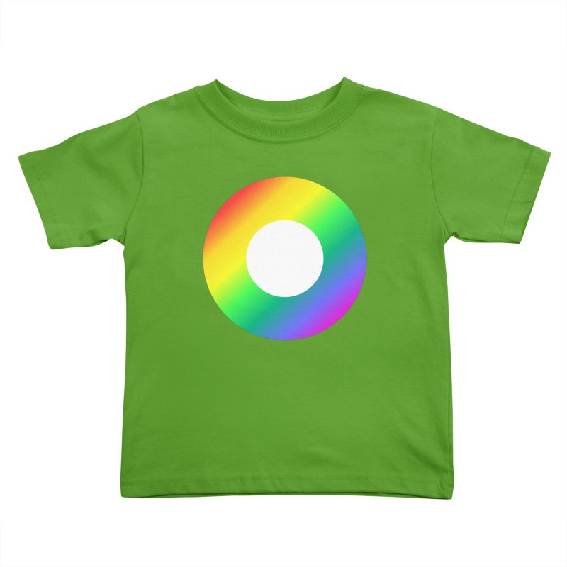 The Rainbow Collection Kids Toddler T-Shirt by Dot HQ