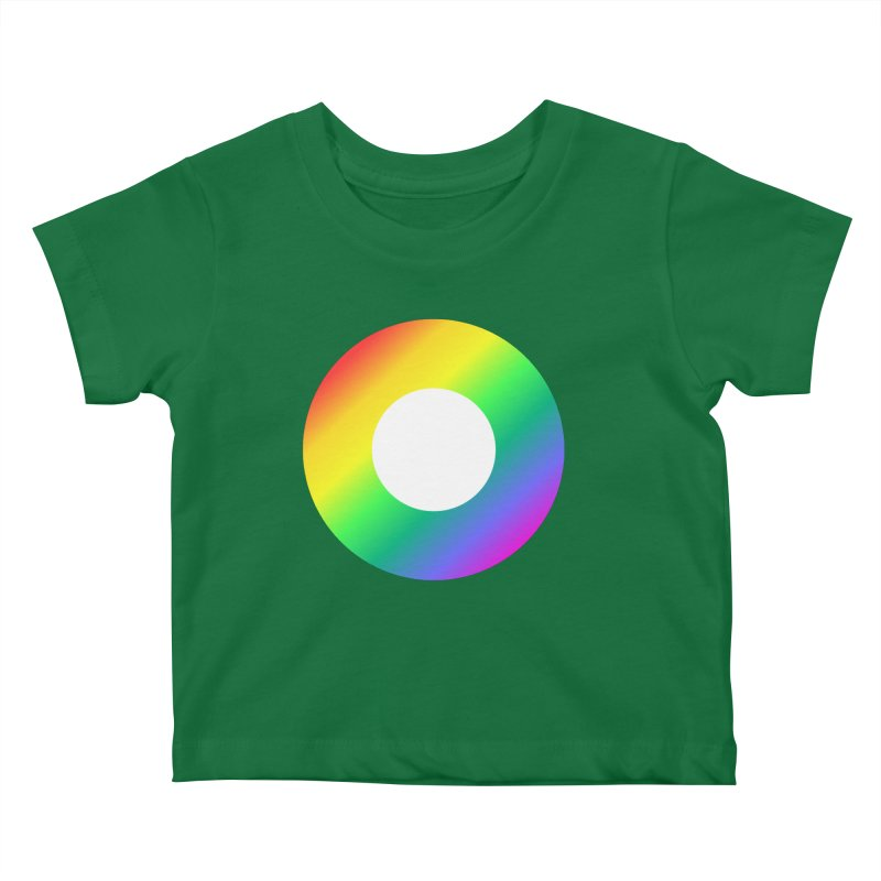 The Rainbow Collection Kids Baby T-Shirt by Dot HQ
