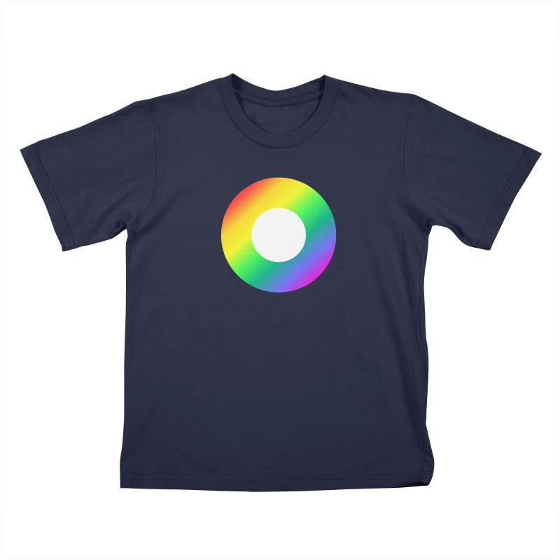 The Rainbow Collection Kids T-Shirt by Dot HQ