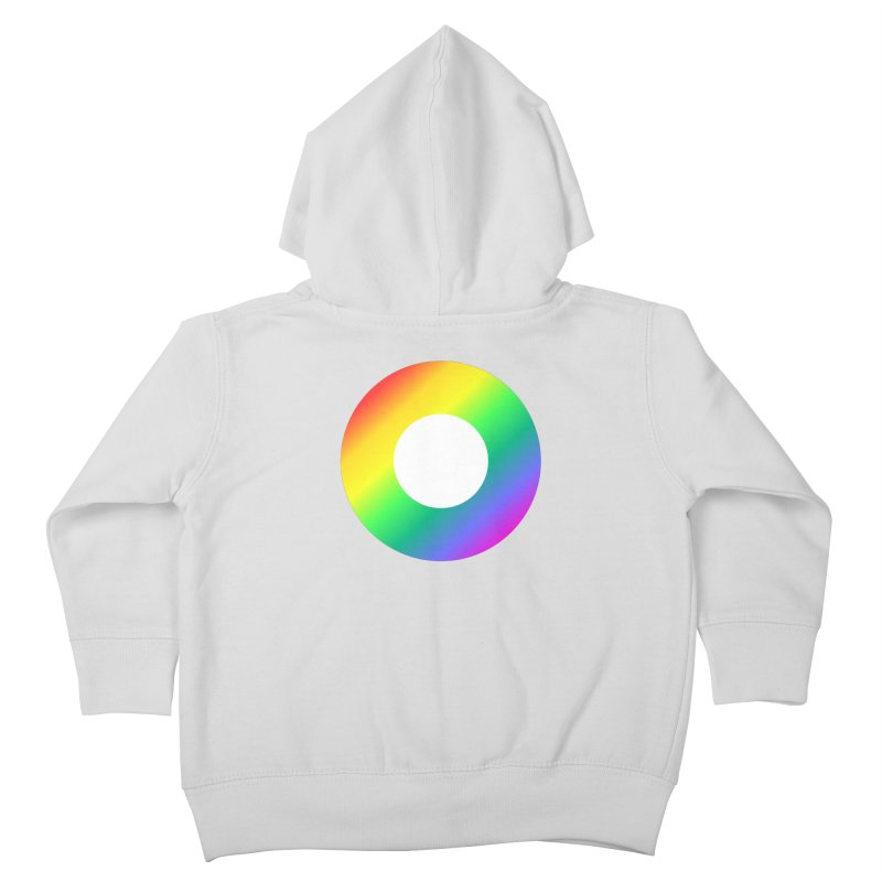 The Rainbow Collection Kids Toddler Zip-Up Hoody by Dot HQ