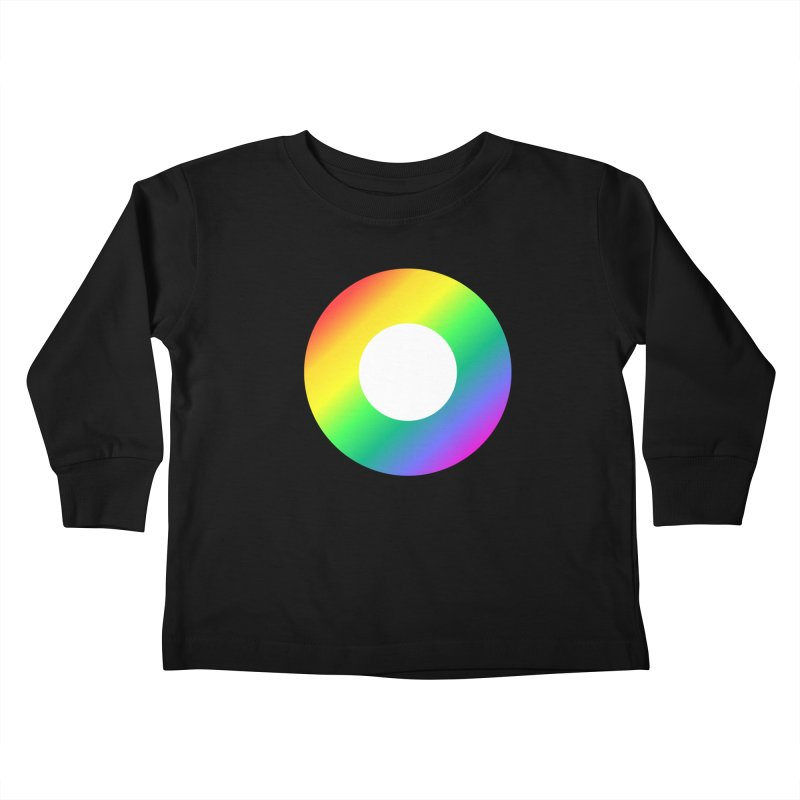 The Rainbow Collection Kids Toddler Longsleeve T-Shirt by Dot HQ