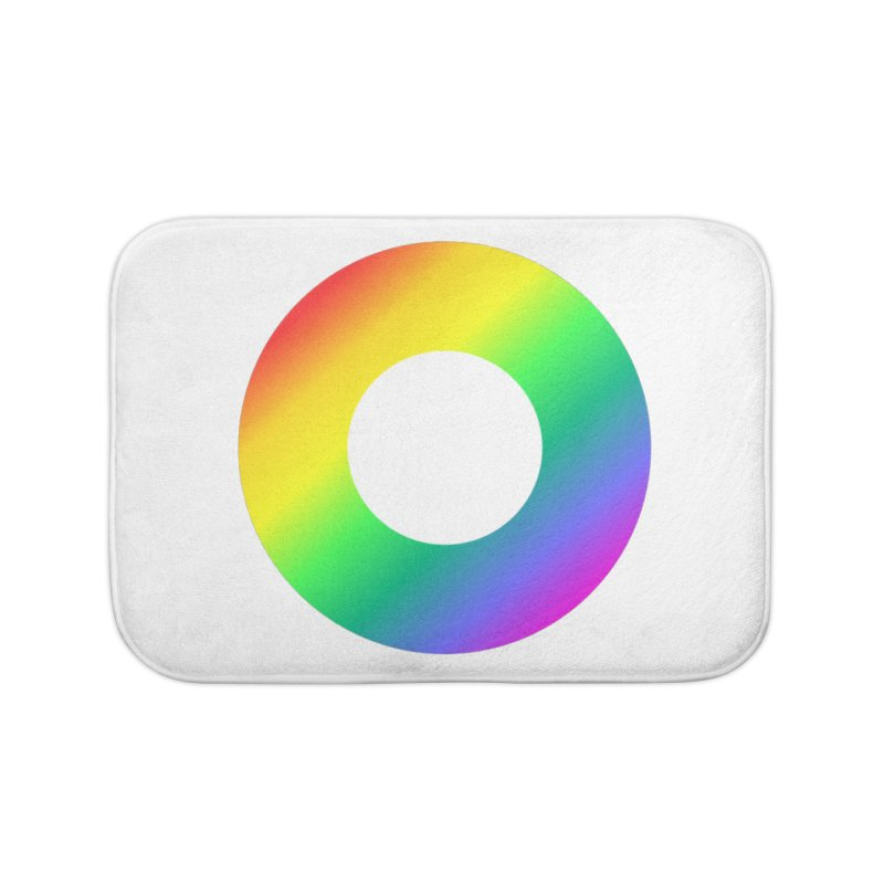 The Rainbow Collection Home Bath Mat by Dot HQ