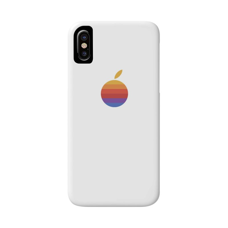 Dotintosh™ Logomark in iPhone X / XS Phone Case Slim by Dotintosh™ Official Merch