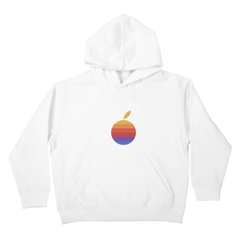 Dotintosh™ Logomark in Kids Pullover Hoody White by Dotintosh™ Official Shop
