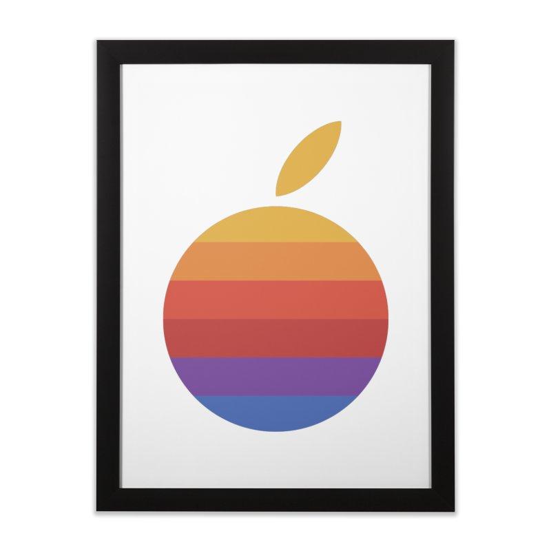 Dotintosh™ Logomark Home Framed Fine Art Print by Dotintosh™ Official Merch