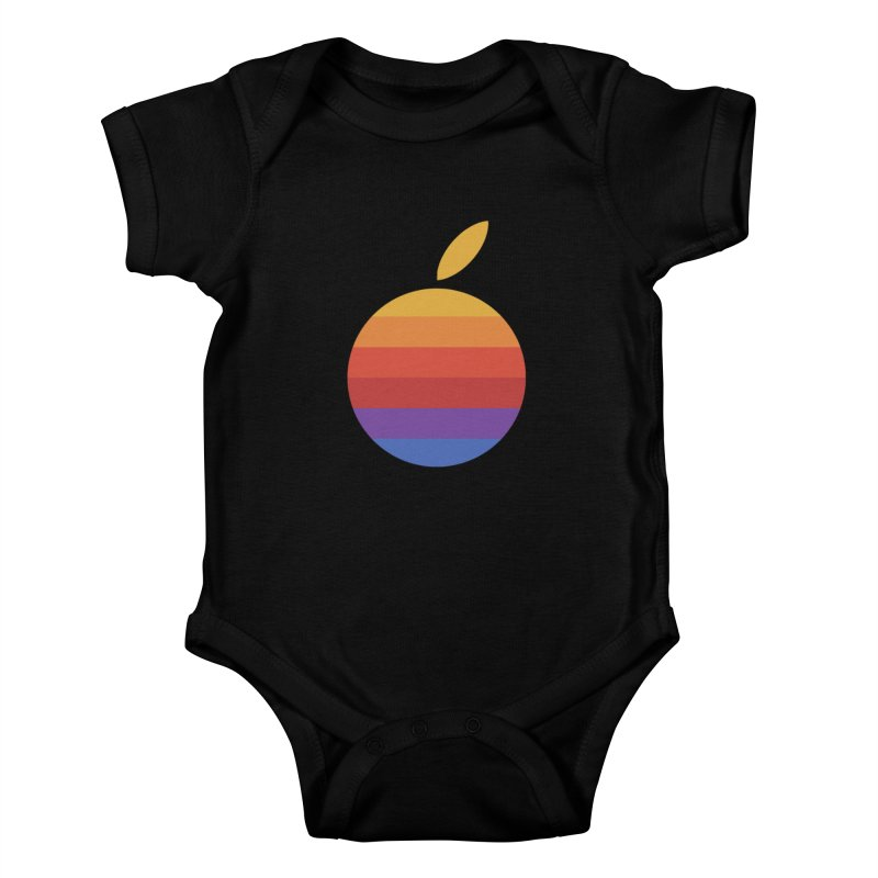 Dotintosh™ Logomark Kids Baby Bodysuit by Dotintosh™ Official Merch