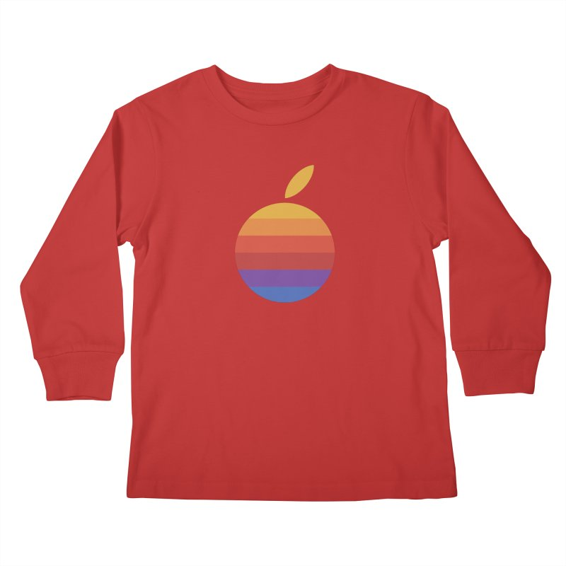 Dotintosh™ Logomark Kids Longsleeve T-Shirt by Dotintosh™ Official Merch