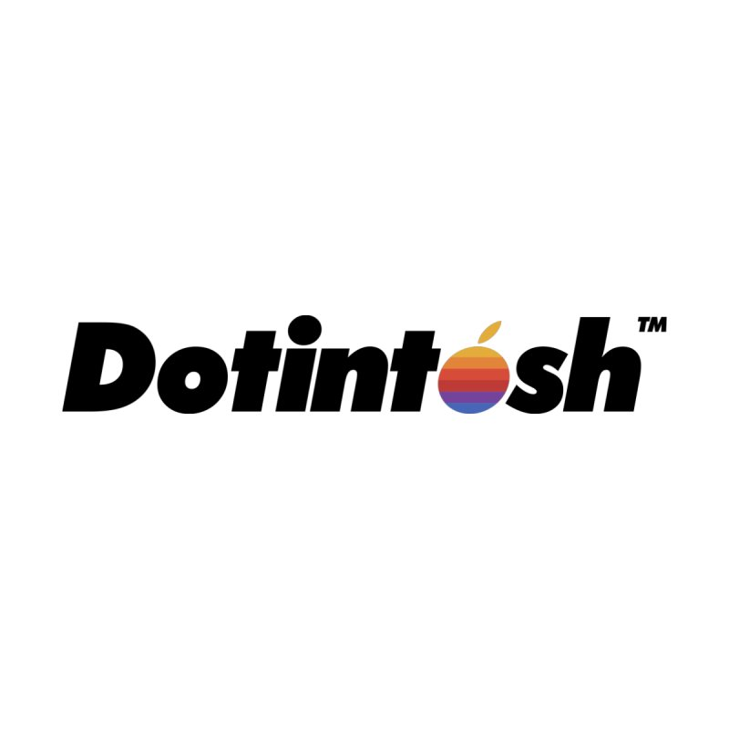 Dotintosh™ Logotype Men's V-Neck by Dotintosh™ Official Merch