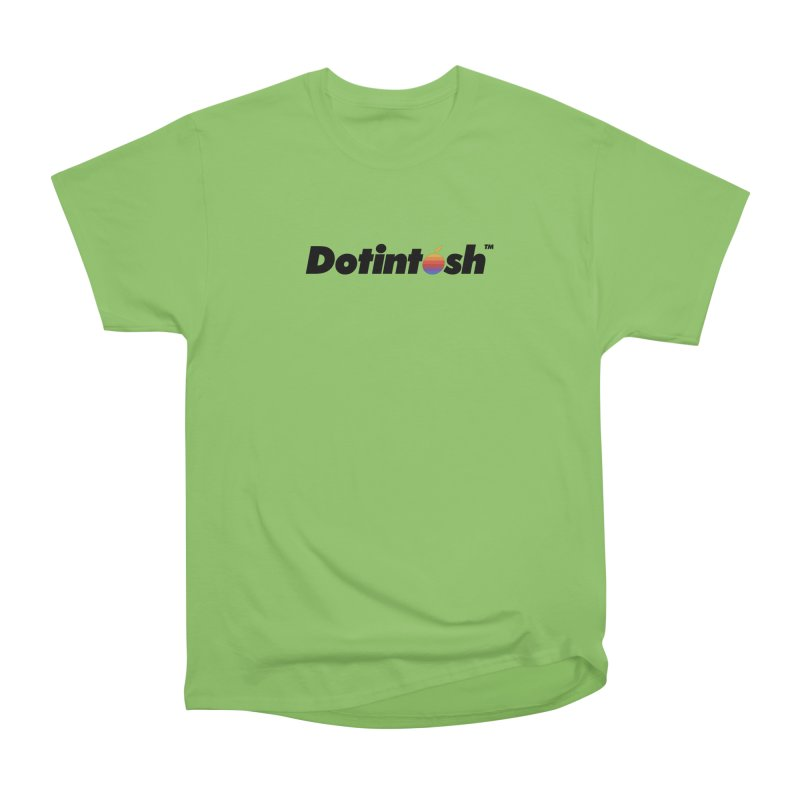 Dotintosh™ Logotype Men's Heavyweight T-Shirt by Dotintosh™ Official Merch