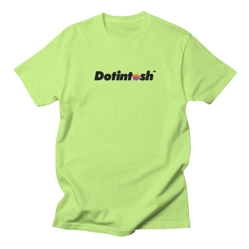 Dotintosh™ Logotype Women's Regular Unisex T-Shirt by Dotintosh™ Official Merch
