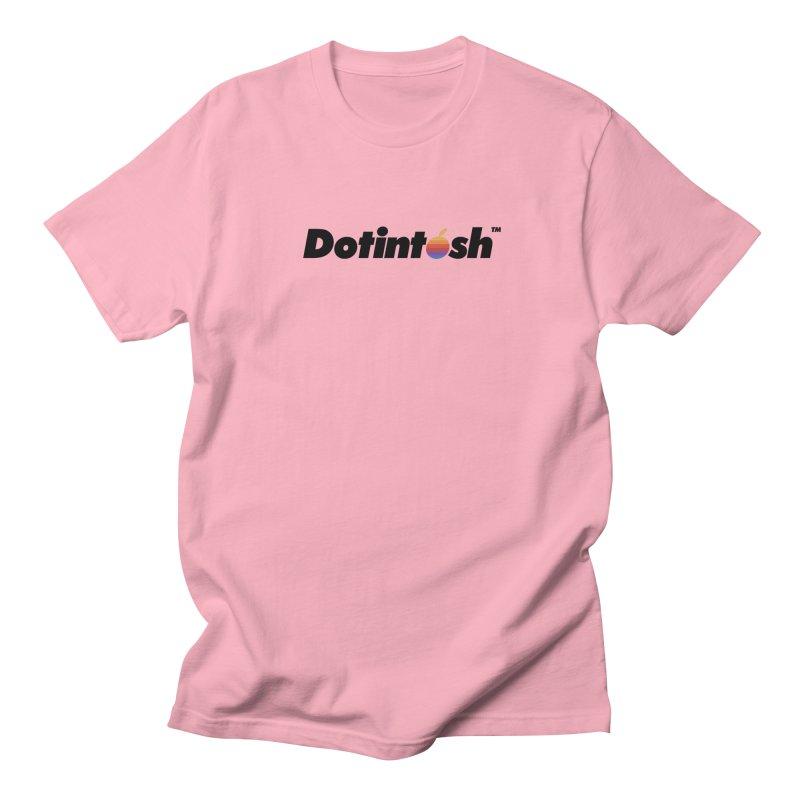 Dotintosh™ Logotype Women's Regular Unisex T-Shirt by Dotintosh™ Official Merch