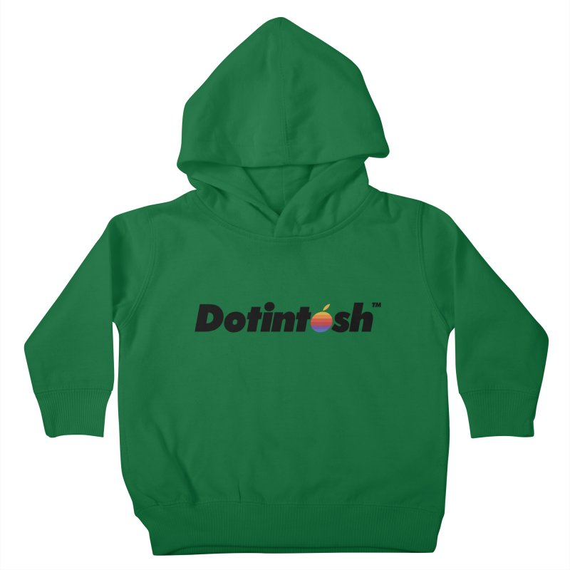 Dotintosh™ Logotype Kids Toddler Pullover Hoody by Dotintosh™ Official Merch