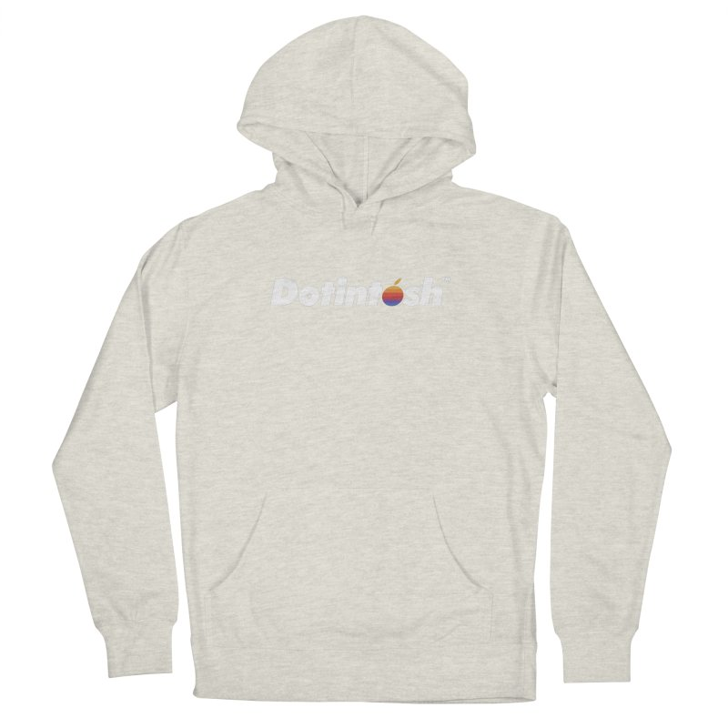Dotintosh™ Logotype Women's French Terry Pullover Hoody by Dotintosh™ Official Merch