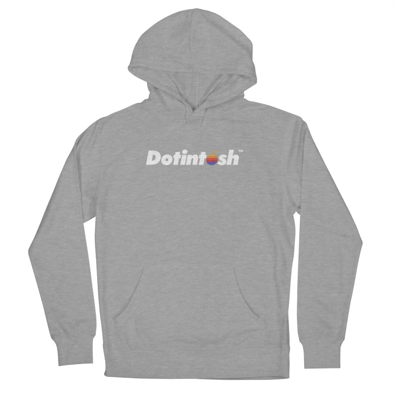 Dotintosh™ Logotype Men's French Terry Pullover Hoody by Dotintosh™ Official Merch