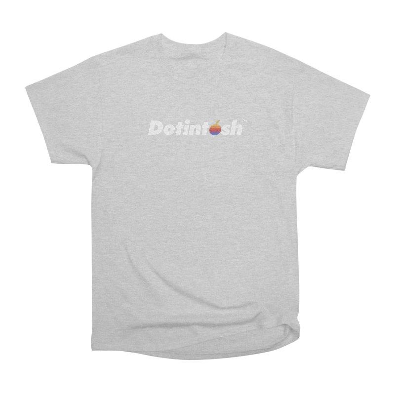 Dotintosh™ Logotype Women's Heavyweight Unisex T-Shirt by Dotintosh™ Official Merch