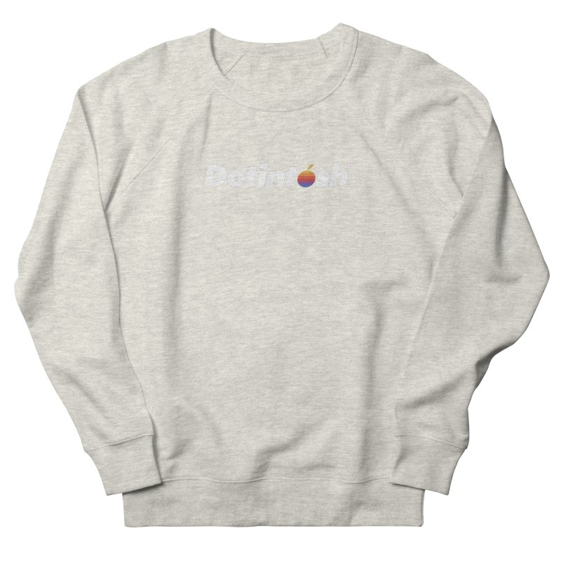 Dotintosh™ Logotype Women's French Terry Sweatshirt by Dotintosh™ Official Merch