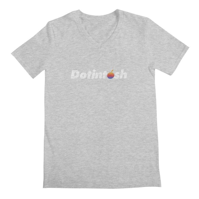 Dotintosh™ Logotype Men's Regular V-Neck by Dotintosh™ Official Merch
