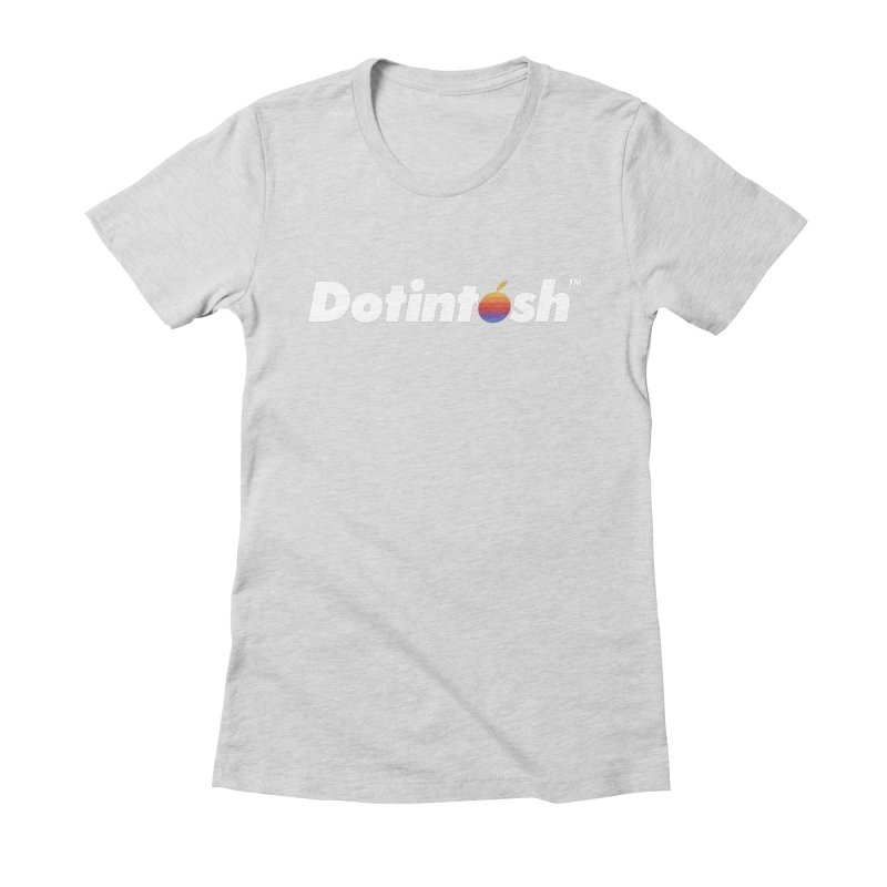 Dotintosh™ Logotype Women's T-Shirt by Dotintosh™ Official Merch