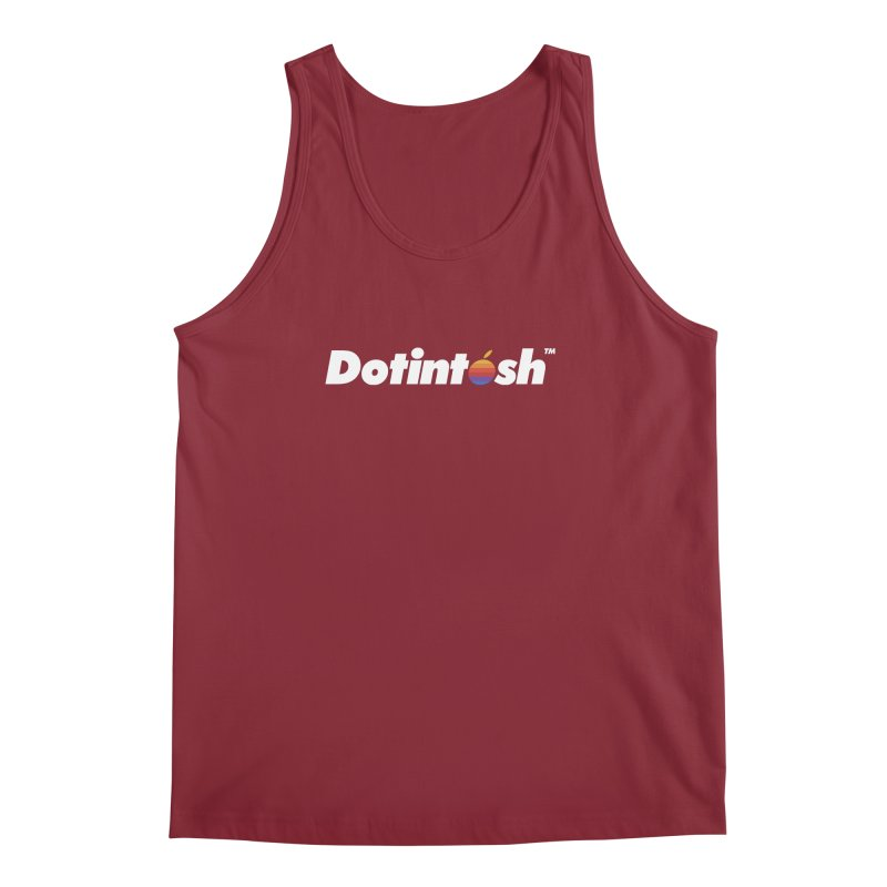 Dotintosh™ Logotype Men's Regular Tank by Dotintosh™ Official Merch