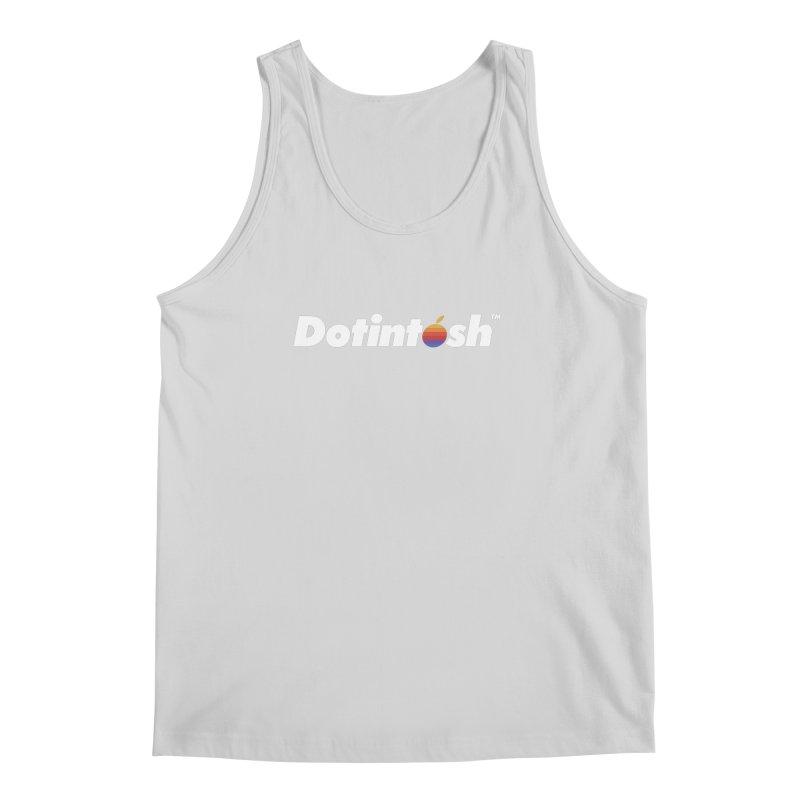 Dotintosh™ Logotype Men's Regular Tank by Dotintosh™ Official Merch