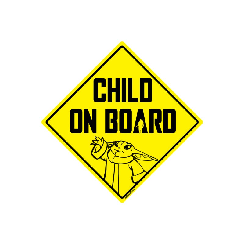 Child on Board Women's T-Shirt by dotproblems's Artist Shop
