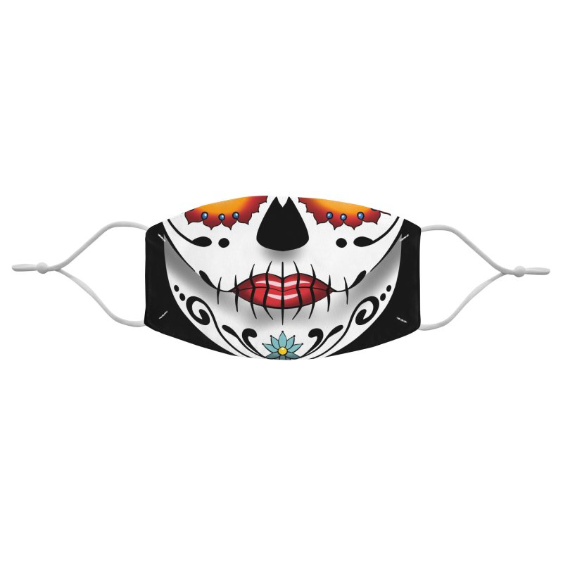 Day of the Dead Accessories Face Mask by dotproblems's Artist Shop