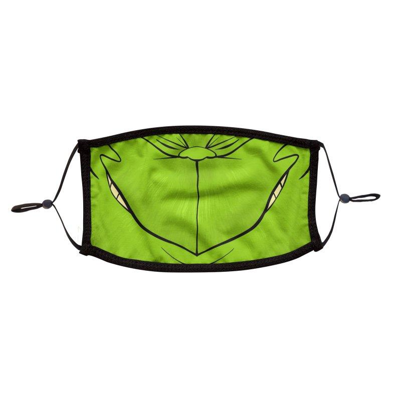 Grinchy Accessories Face Mask by dotproblems's Artist Shop
