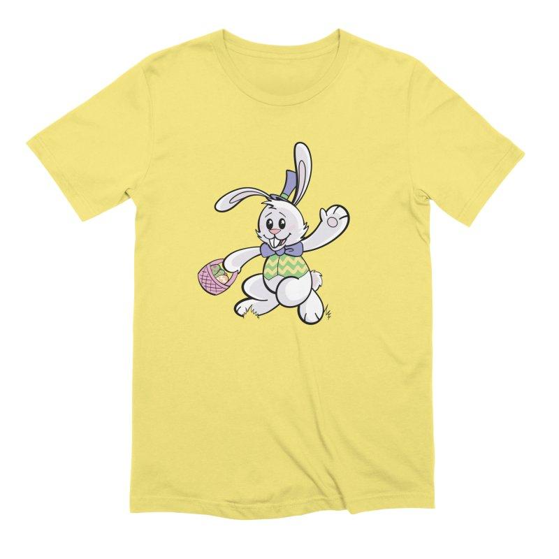Easter Bunny Men's T-Shirt by dotproblems's Artist Shop