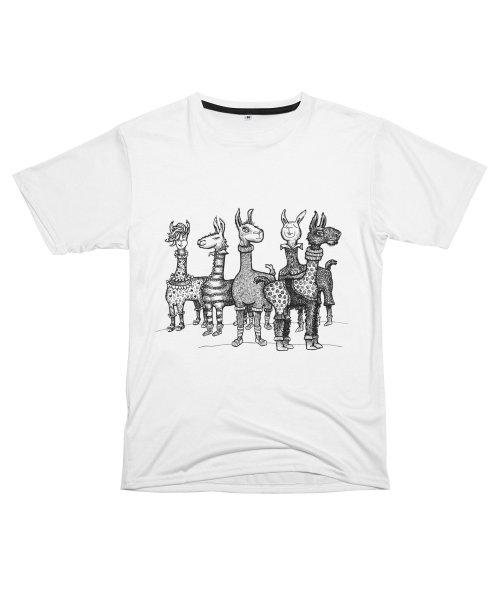 Llamas in Pajamas by dotsofpaint