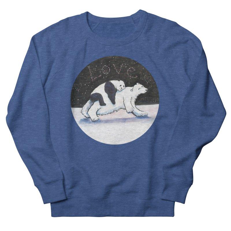 Bear Hugs Women's Sweatshirt by dotsofpaint threads
