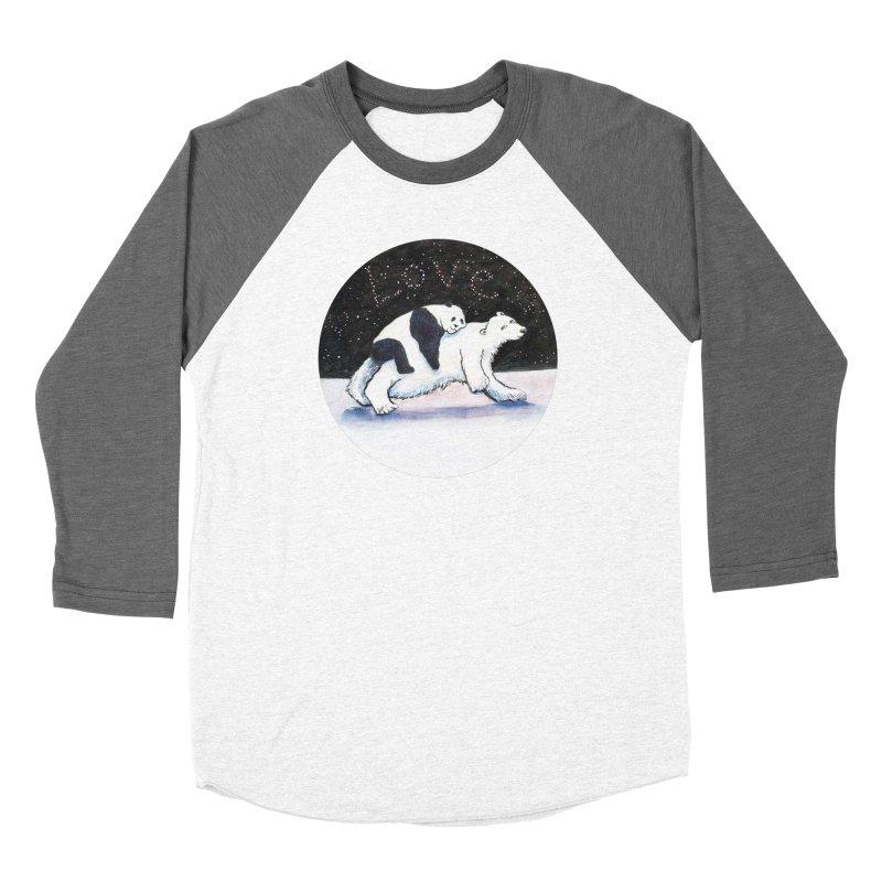 Bear Hugs Women's Longsleeve T-Shirt by dotsofpaint threads
