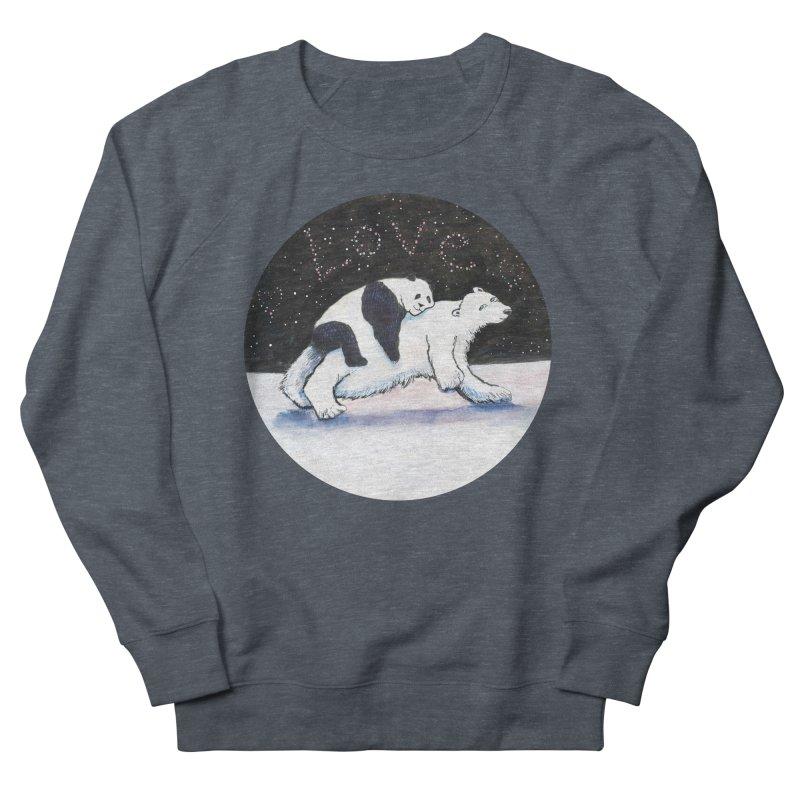 Bear Hugs Women's French Terry Sweatshirt by dotsofpaint threads