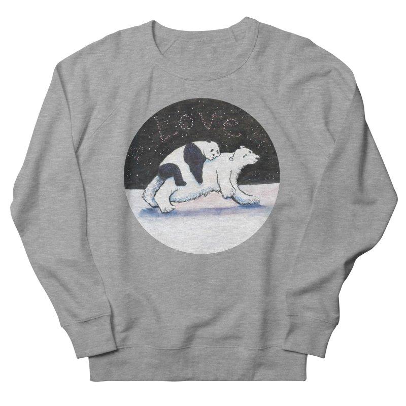 Bear Hugs Men's French Terry Sweatshirt by dotsofpaint threads