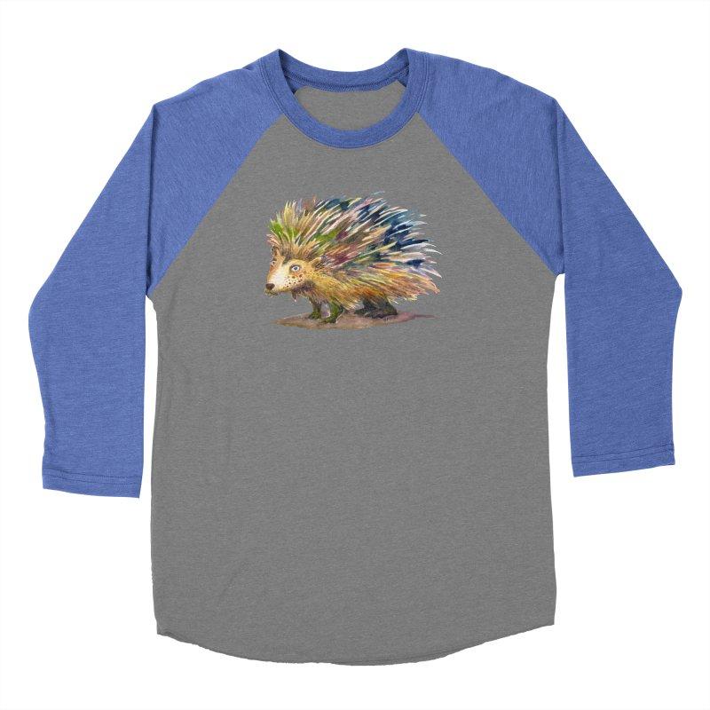 Porcupine Pete Women's Longsleeve T-Shirt by dotsofpaint threads