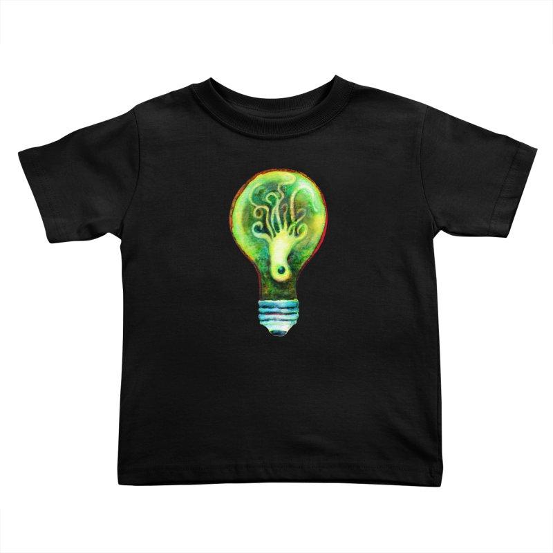 OctoBlub Kids Toddler T-Shirt by dotsofpaint threads