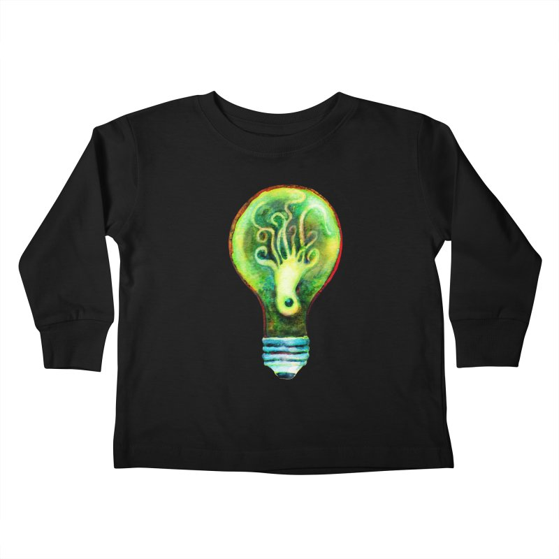OctoBlub Kids Toddler Longsleeve T-Shirt by dotsofpaint threads