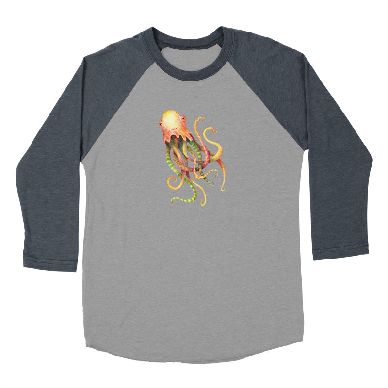 Octopus 2018 Women's Longsleeve T-Shirt by dotsofpaint threads