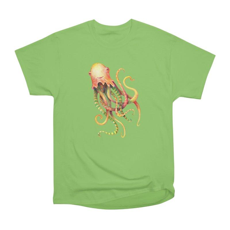 Octopus 2018 Women's Heavyweight Unisex T-Shirt by dotsofpaint threads