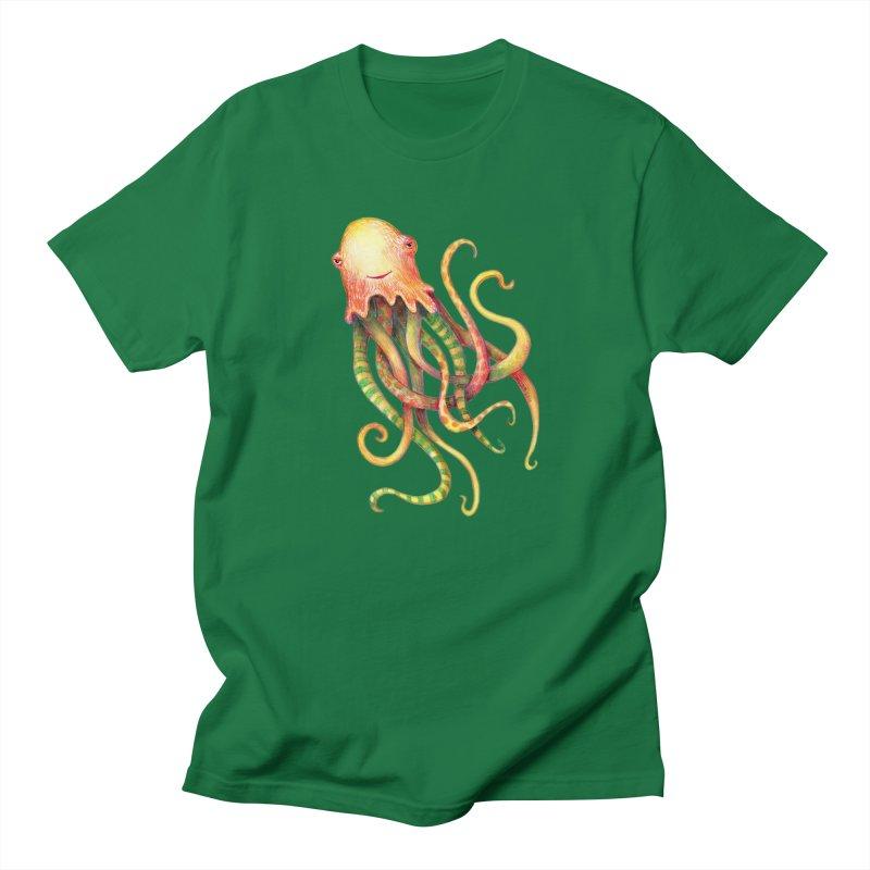 Octopus 2018 Women's Regular Unisex T-Shirt by dotsofpaint threads