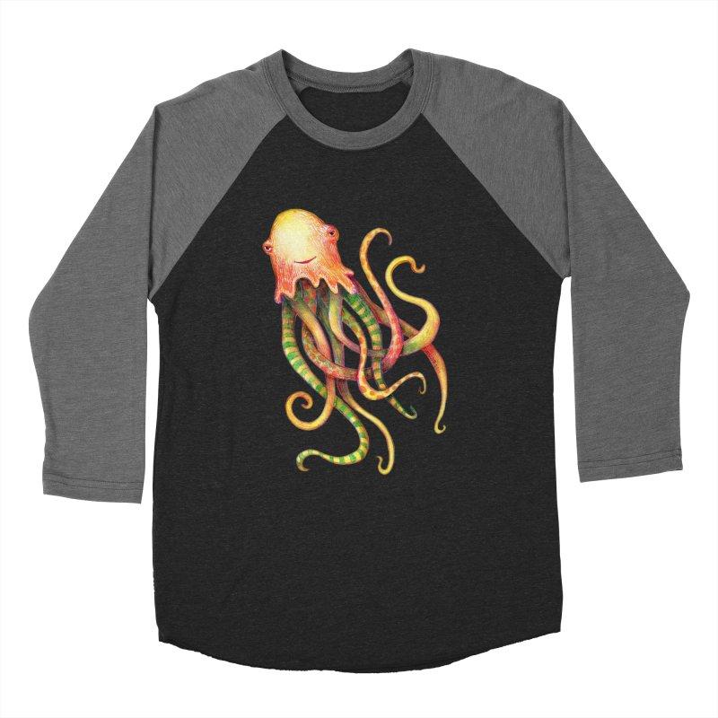 Octopus 2018 Women's Baseball Triblend Longsleeve T-Shirt by dotsofpaint threads
