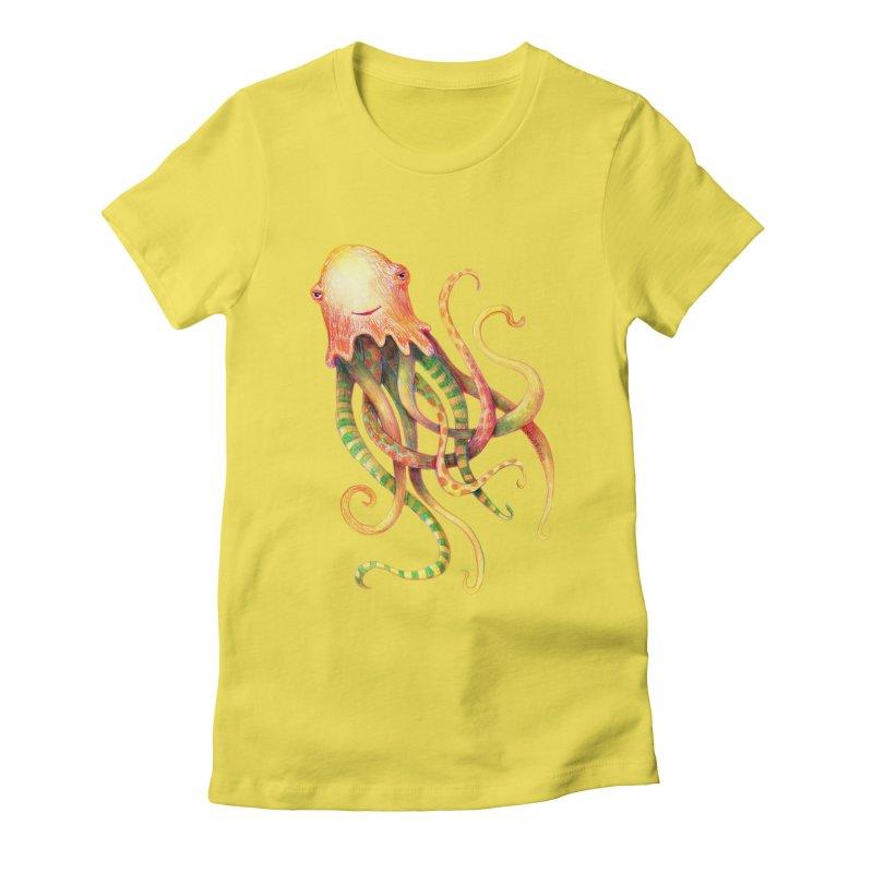 Octopus 2018 Women's T-Shirt by dotsofpaint threads