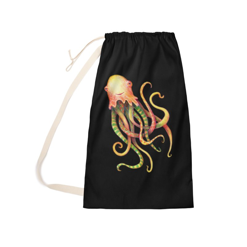 Octopus 2018 Accessories Laundry Bag Bag by dotsofpaint threads