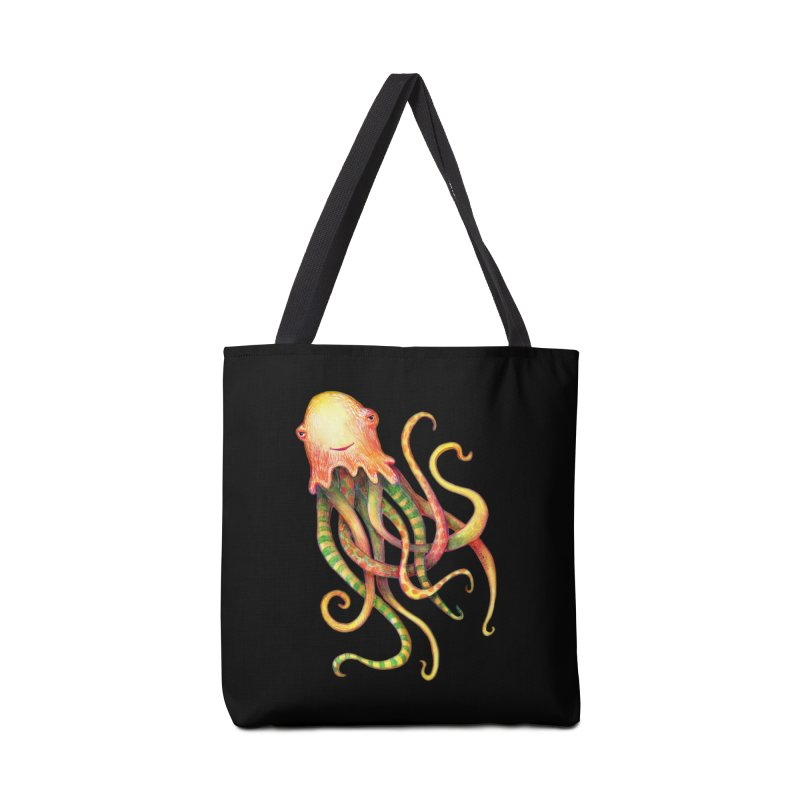 Octopus 2018 Accessories Bag by dotsofpaint threads