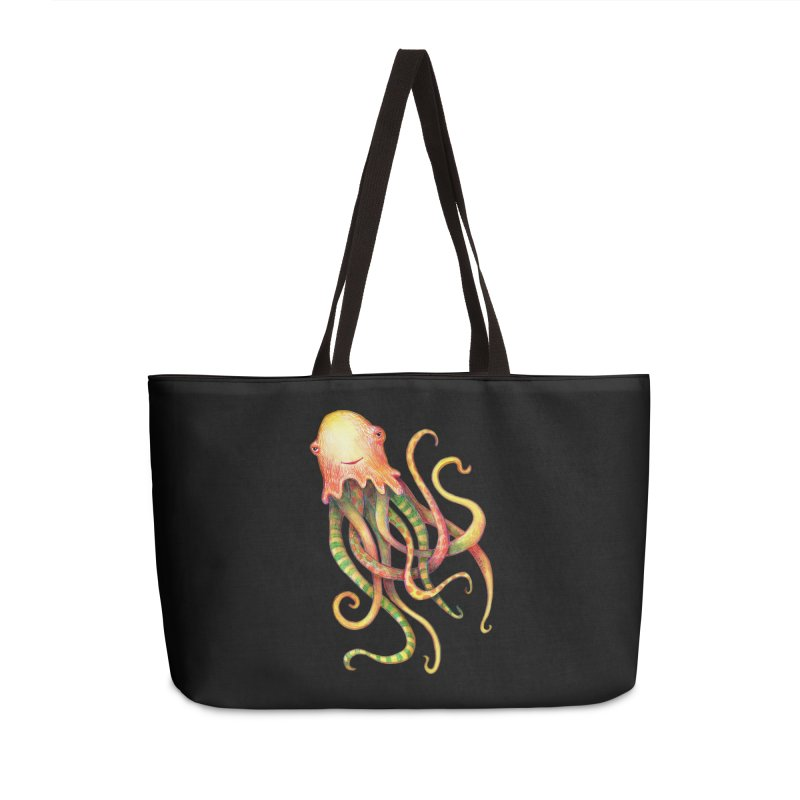 Octopus 2018 Accessories Weekender Bag Bag by dotsofpaint threads