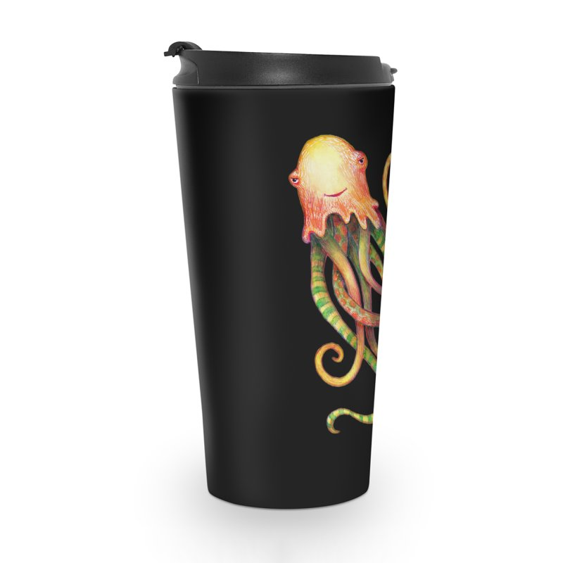 Octopus 2018 Accessories Travel Mug by dotsofpaint threads