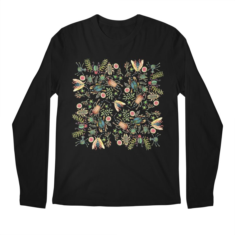 Bugs Galore Men's Longsleeve T-Shirt by dotsofpaint threads