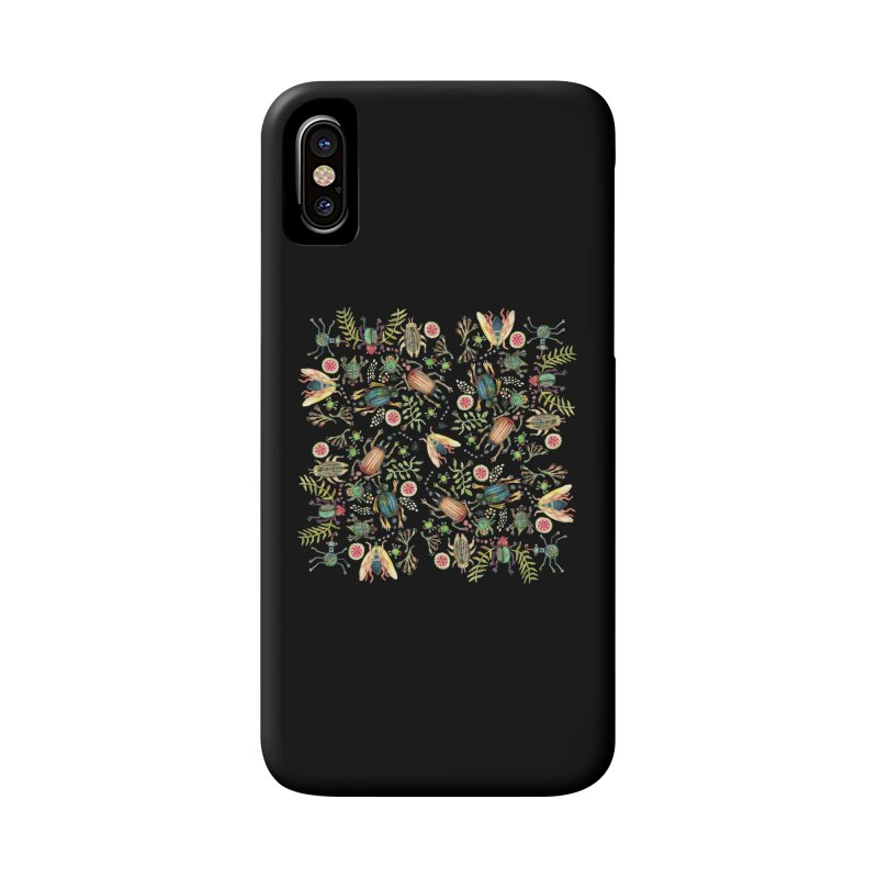 Bugs Galore Accessories Phone Case by dotsofpaint threads