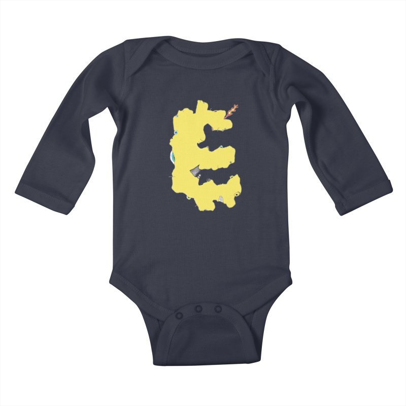 Face It (E) Kids Baby Longsleeve Bodysuit by Face It, You Want This