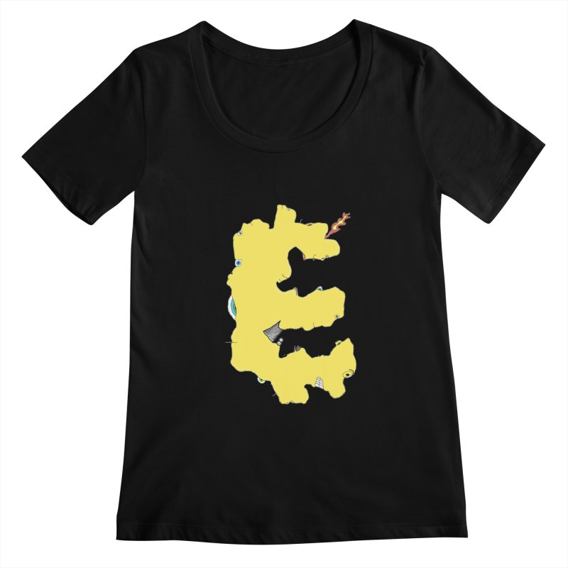 Face It (E) Women's Scoopneck by Face It, You Want This