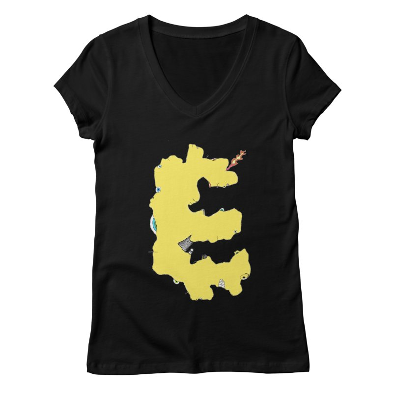 Face It (E) Women's V-Neck by Face It, You Want This